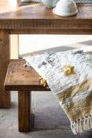 Chopwell Dining Bench - Chunky, Rustic, Sustainable